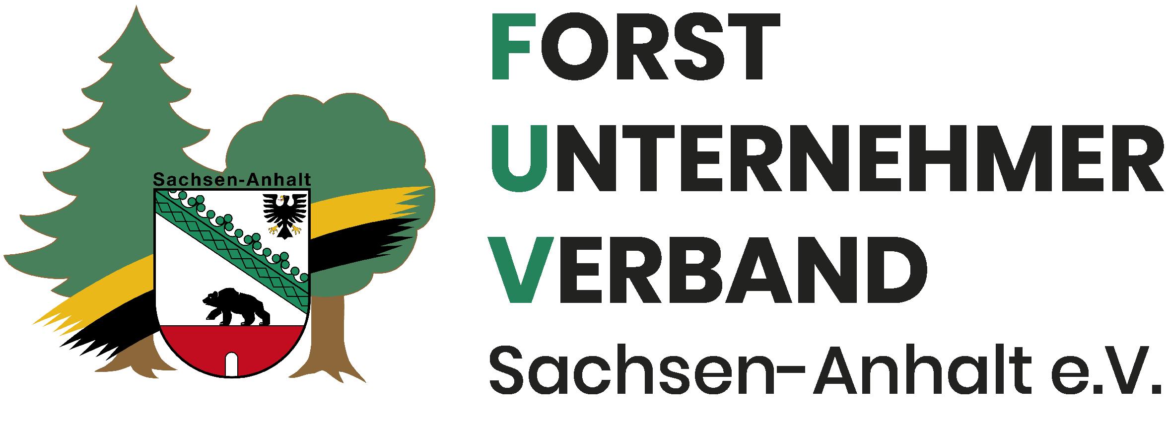 Logo Forst Unternehmer Verband Sachsen-Anhalt e.V. (FUV)